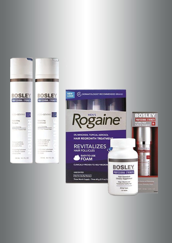 Hair Apparent Hair Salon BOSLEY Products