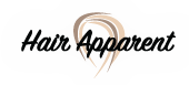 Hair Apparent Hair Salon Logo
